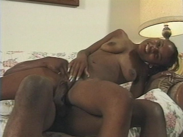 Ebony Teen Babe is being Fooled By a Guy Who