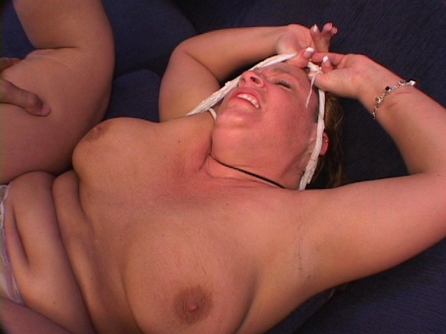 BBW Big Boobed Amateur Woman with a Hairy